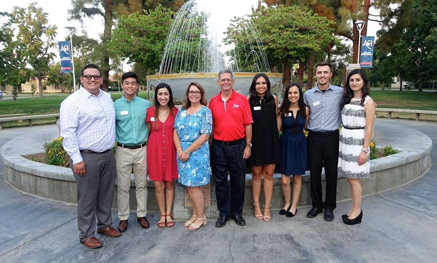 Business Scholars, Dean, and Advisor August 2016