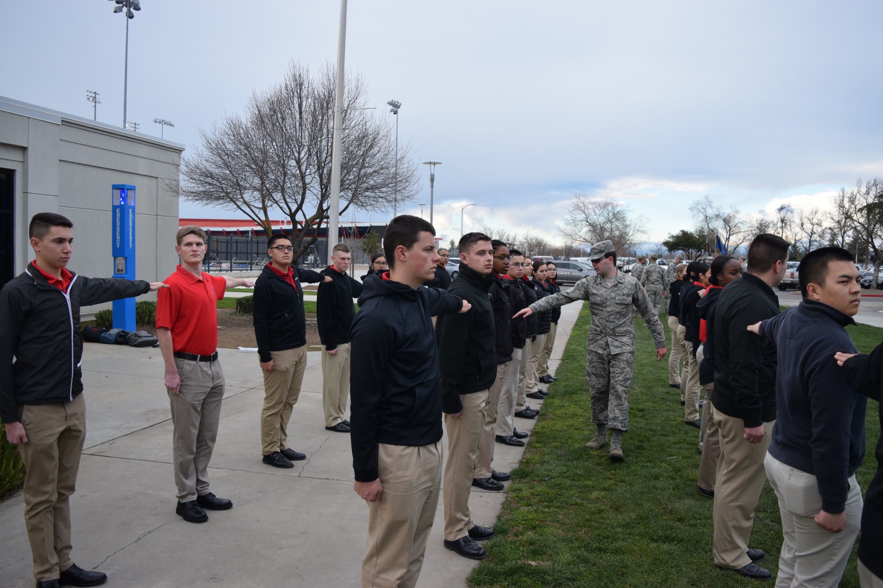 Air Force Cadets 12