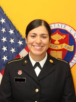 Cadet Supply Officer Maria Flores